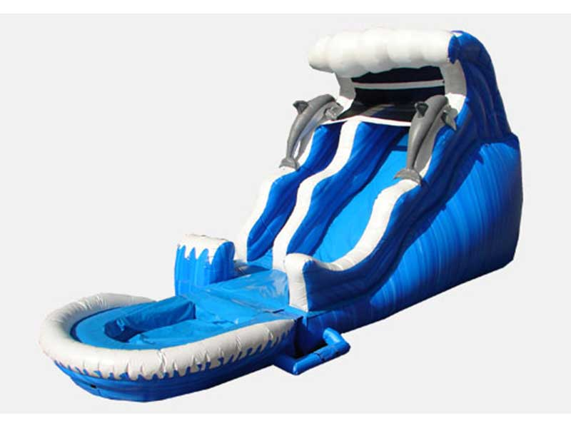 18' Dolphin Slide with Pool **NEW**