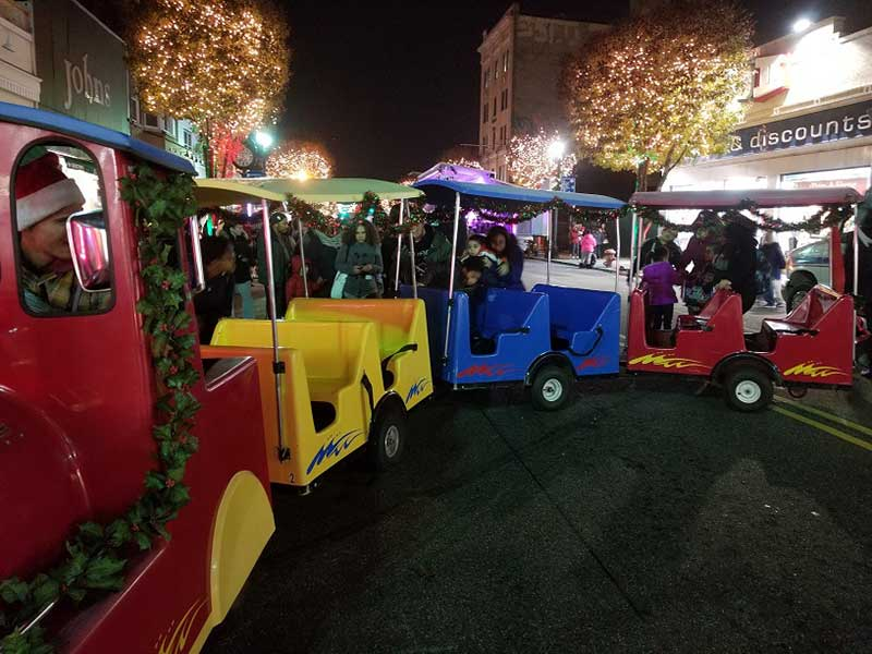Holiday Trackless Train