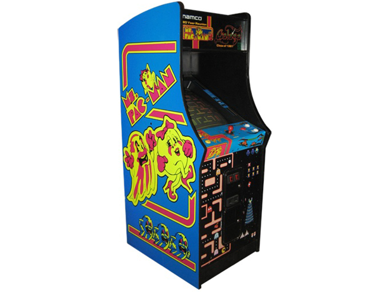 Ms. Pacman/Galaga Combo