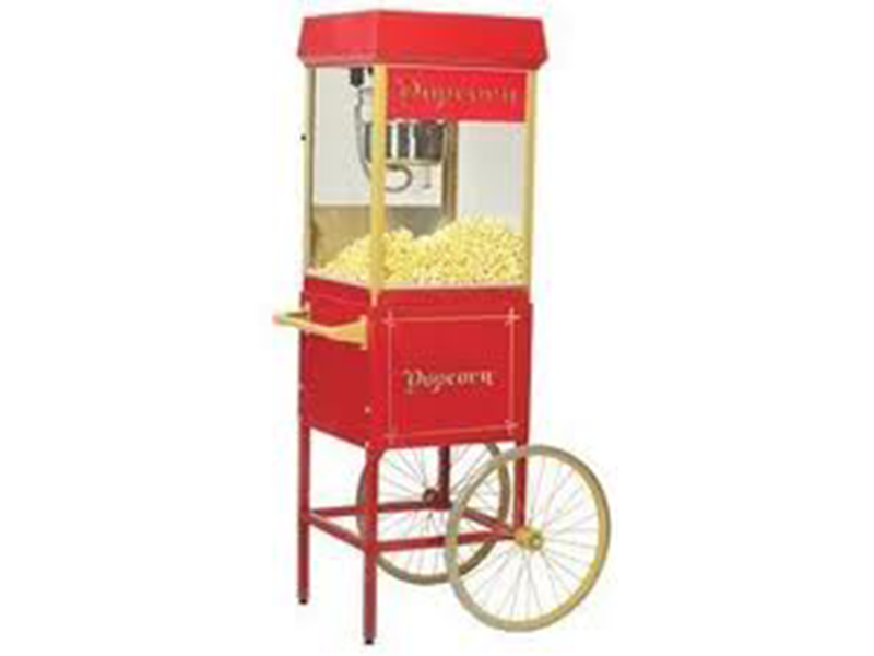 Popcorn With Cart