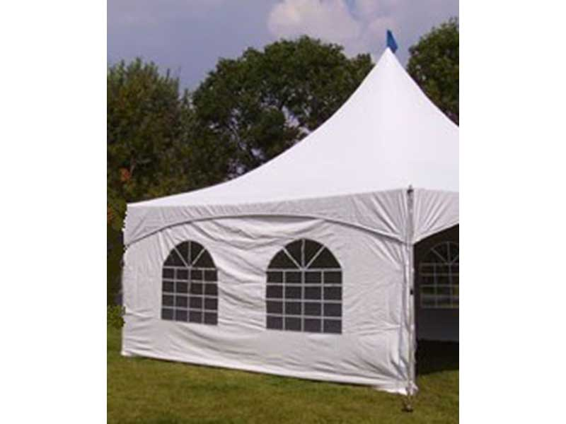 Tent Sidewalls with Windows