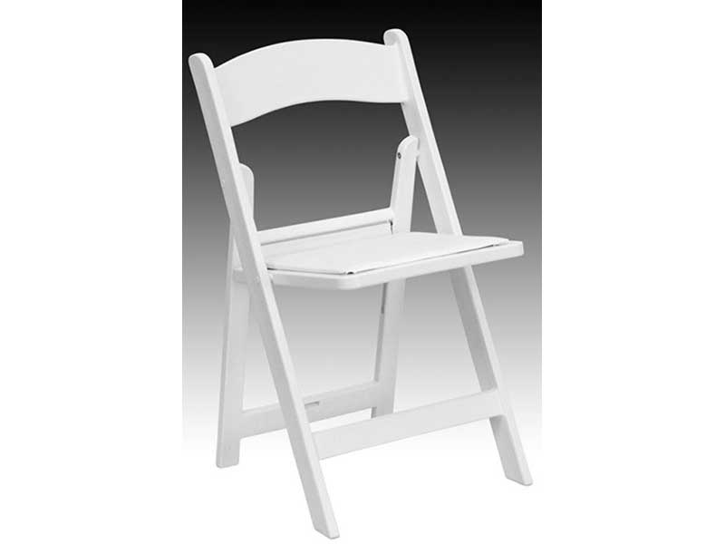 Resin Padded Chair